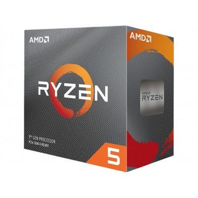 AMD Ryzen 5 3600, Socket AM4, 3.6-4.2GHz (6C/12T), 32MB Cache L3, No Integrated GPU, 7nm 65W, tray