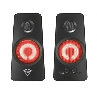 Trust Gaming GXT 608 Tytan Illuminated 2.0 Speaker Set, 36W, LED illuminatio, Black
