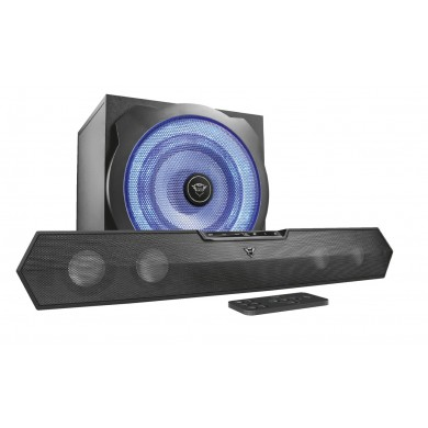 Trust Gaming GXT 668 Tytan 2.1 Soundbar Speaker Set, 120W, Black