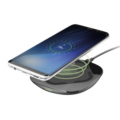 Trust Cito10 Fast Wireless Charger, Fast-charges any Qi fast-charge compatible device, Wireless power output modes 5W, 10W