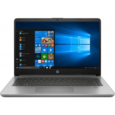 "Business Laptop 14.0"" HP 340s G7 / Intel Core i3 / 8GB / 256GB SSD / Win10Pro / Asteroid Silver"