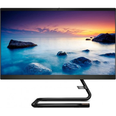 """All-in-One PC 21.5"""" Lenovo IdeaCentre 3 22ADA05 / Ryzen 3 / 8GB / 256GB SSD / Black"""