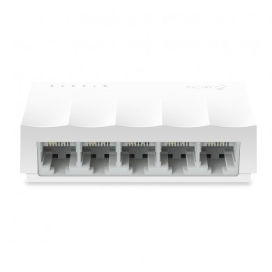 TP-LINK LS1005  5-port Desktop Switch, 5 10/100M RJ45 ports, Plastic case, LiteWave, Green Technology