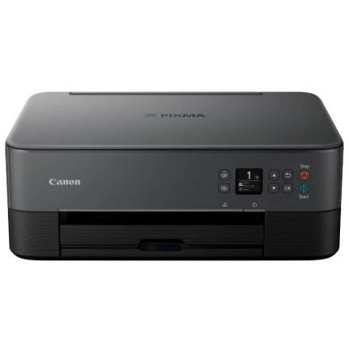 MFD Canon Pixma TS5340 Black, Colour Print/Scan/Copier/Duplex, Wi-Fi+Cloud Link,  A4, ESAT 13/6.8 ipm, Print 4800x1200dpi_2pl,Scan 1200x2400dpi, 64-300г/м2,Paper Input: 100sheets,USB 2.0, Display LCD 7.5cm,5-ink tanks PG-460/461XL BK,PGBK,C,M,Y
