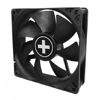 80mm Case Fan - XILENCEXPF80.W Fan, 80x80x25mm, 1800rpm, <20dBa, 21.8 CFM, hydro bearing, Big 4Pin and 3Pin Molex, Black, White Box