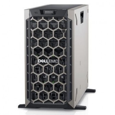 Dell PowerEdge T440 Tower, Intel Xeon Silver 4208 (2.1GHz, 8C/16T, 11M, 85W), 16GB RDIMM 2666MT/s, 600Gb 10K SAS 12Gbp  2.5in Hot-plug HDD (up to 8х3.5