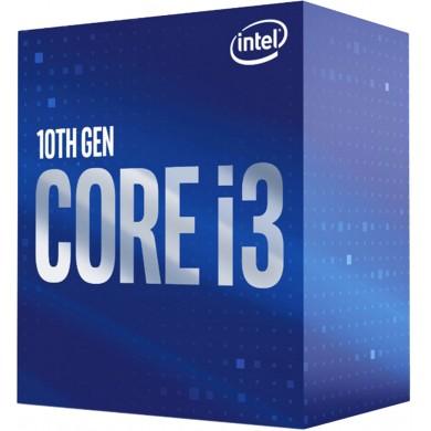 Intel® Core™ i3-10320, S1200, 3.8-4.6GHz (4C/8T), 8MB Cache, Intel® UHD Graphics 630, 14nm 65W, Box