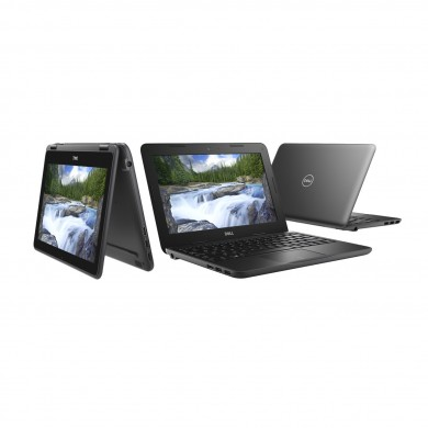 2-in-1 Laptop 11.6'' DELL Latitude 3190 / Intel Pentium / 4GB / 128GB / Win10Pro / Black