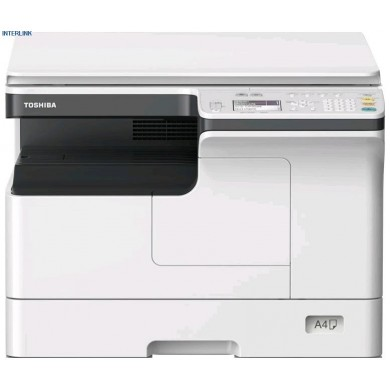 MFP Toshiba e-Studio 2323AM (Inc.Starter KIT), Mono Copier/Printer/Scanner/Net, A3/14ppm, A4/23ppm, 2400x600dpi,25–400%,52-216g/m2,512Mb,1x250+100-sheet ,59k pag per month,Drum OD-2505_59k pag,Developer D-2505_65k pag,Toner T-2309E_17500 par A4 at 6%