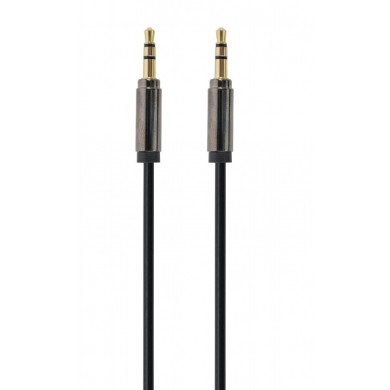 Audio cable 2x 3.5 mm - 1.8m - Cablexpert CCAP-444-6, Stereo audio cable with gold plated connectors, 2x 3.5 mm stereo (m) connectors, 1.8m