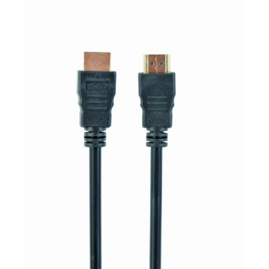 """Cable HDMI - 4.5m - Cablexpert CC-HDMI4L-15 """"Select Series"""", male-male, High speed HDMI cable with Ethernet, Supports 4K UHD resolutions at 60Hz, Gold plated connectors, Black"""