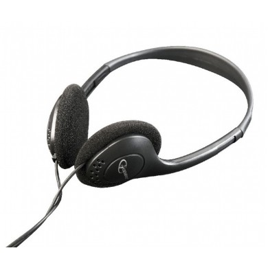 Gembird MHP-123, Stereo headphones with volume control, Black
