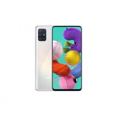 """Samsung Galaxy A51 EU 128GB Silver, DualSIM, 6.5"""" 1080x2400 AMOLED, Exynos 9611, Octa-Core 2.3GHz, 8GB RAM, Mali-G72 MP3, microSD (dedicated slot), 48MP+8MP+5MP+5MP/20MP, USB-C, 4000mAh, FC, WiFi-AC/BT5.0, Android 10"""