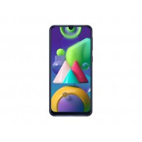 "Samsung Galaxy M21 EU 64GB Blue, DualSIM, 6.4"" 1080x2400 AMOLED, Exynos 9611, Octa-Core 2.3GHz, 4GB RAM, Mali-G72 MP3, microSD (dedicated slot), 48MP+8MP+5MP/20MP, USB-C, 6000mAh, FC, WiFi-AC/BT5.0, Android 10, NFC, Headset"