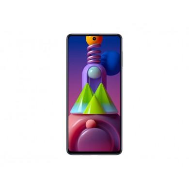 "Samsung Galaxy M51 EU 128GB White, DualSIM, 6.7"" 1080x2340 AMOLED, Snapdragon 730G, Octa-Core 2.3GHz, 8GB RAM, Adreno 618, microSD (dedicated slot), 64MP+12MP+5MP+5MP/32MP, USB-C, 7000mAh, FC, WiFi-AC/BT5.0, Android 10"