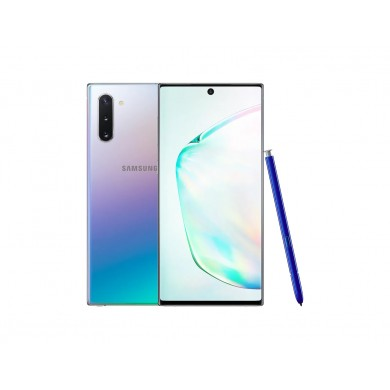 "Samsung Galaxy Note10 EU 256GB Glow, DualSIM, 6.3"" 1080x2280 AMOLED, Exynos 9825, Octa-Core 2.73GHz, 8GB RAM, Mali-G76 MP12, microSD (dedicated slot), 12MP+12MP+16MP/10MP, USB-C, 3500mAh, FC, WiFi-6/BT5.0, Android 10, NFC"