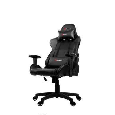 Gaming/Office Chair AROZZI Verona V2, Black/Black, PU Leather, max weight up to 100-105kg / height 160-180cm, Recline 165°, 1D Armrests, Head and Lumber cushions, Metal Frame, Nylon wheelbase, Gas Lift 4class, Small nylon casters, W-25.5kg