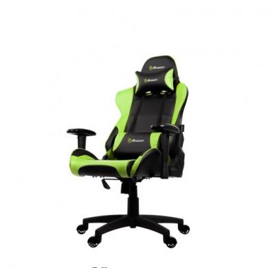 Fotoliu Gaming AROZZI Verona V2 VERONA-V2-GN / 100-105kg / 160-180cm /  Black/Green