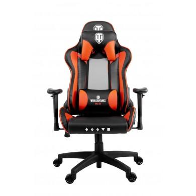 Fotoliu Gaming AROZZI Verona WoT Edition VERONA-V2-WOT / 100-105kg / 160-180cm /  Black/Orange