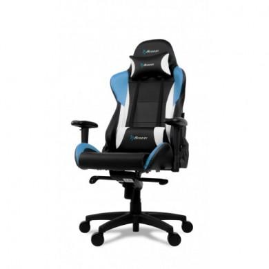 Fotoliu Gaming AROZZI Verona Pro V2 VERONA-PRO-V2-BL / 120-130kg / 165-190cm /  Black/Blue/White