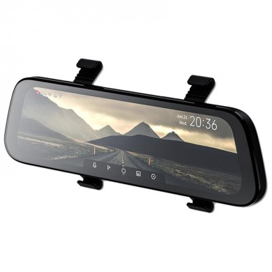 "Xiaomi 70mai Rearview Mirror Dash Cam D07 EU, FHD vehicle recorder, Display 9.35"" IPS, Wide angle: 130°, WiFi, FHD@60fps, G-Sensor, MicroSD up to 64GB"