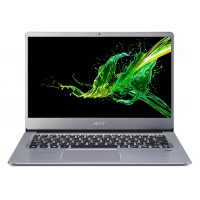 "ACER Swift 3 Sparkly Silver (NX.HFDEU.025), 14.0"" IPS FHD (AMD Ryzen 5 3500U 4xCore, 2.1-3.7GHz, 12GB (4+8) LPDDR4 RAM, 512GB PCIe NVMe SSD+HDD Kit, Radeon Vega 8 Graphics, WiFi-AC/BT, FPR, Backlit KB, 3cell, HD Webcam, RUS, No OS, 1.5kg, 17.95mm)"
