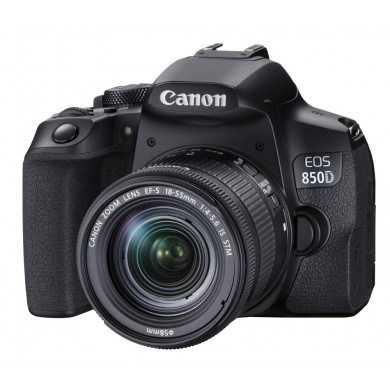 DSLR Camera CANON EOS 850D 18-55 IS STM (3925C016)