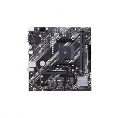 ASUS PRIME A520M-K, Socket AM4, AMD A520, Dual 2xDDR4-4600, APU AMD graphics, VGA, HDMI, 1xPCIe X16, 4xSATA3, RAID, 1x M.2 slot, 2xPCIe X1, ALC887 7.1ch HDA, GbE LAN, 6xUSB3.1, 5X Pro.III, mATX