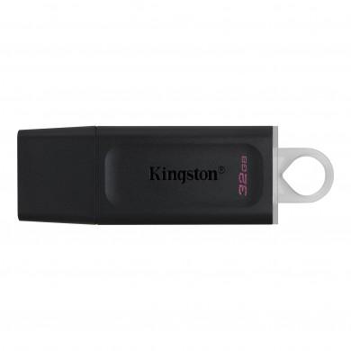 32GB USB3.2  Kingston DataTraveler Exodia Black/White, (Read 100 MByte/s, Write 12 MByte/s)