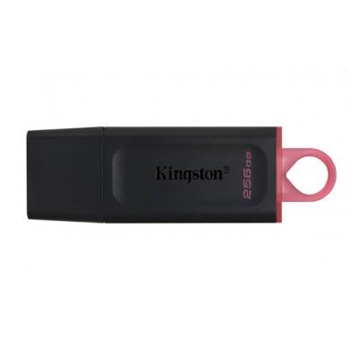 256GB USB3.2  Kingston DataTraveler Exodia Black/Red, (Read 100 MByte/s, Write 12 MByte/s)