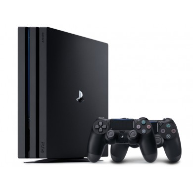 Game Console  Sony Playstation 4 Slim 1TB Black, 2 x Gamepad (Dualshock 4)