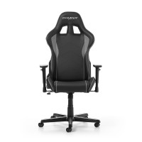 Gaming/Office Chair DXRacer Formula GC-F08-NG-H1, Black/Grey, Premium PU leather, max weight up to 150kg / height 145-180cm, Recline 90°-135°, 3D Armrests, Head and Lumber cushions, Aluminium wheelbase, 2
