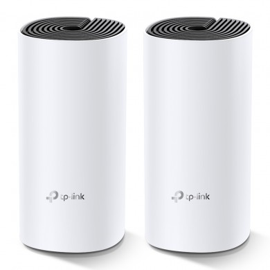 TP-LINK Deco M4 (3-pack)  AC1200 Mesh Wi-Fi System, 2 LAN Gigabit Port, 867Mbps on 5GHz + 300Mbps on 2.4GHz, 802.11ac/b/g/n, Wi-Fi Dead-Zone Killer, Seamless Roaming with One Wi-Fi Name, Antivirus, Parental Controls