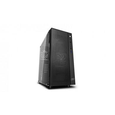 Carcasa DEEPCOOL MATREXX 55 MESH 2F / w/oPSU / Side panel / 2x120mm PWM fans / ATX / Black
