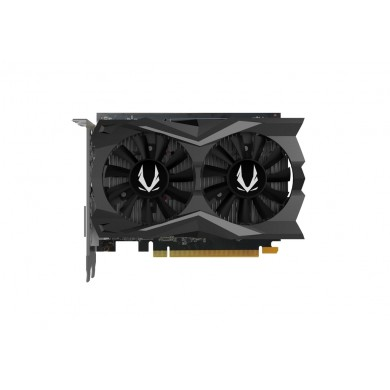 ZOTAC GeForce GTX 1650 D6 AMP! Core Edition 4GB GDDR6, 128bit, 1650/12000Mhz, Dual Fansink, 2*70mm Twin Fan, HDCP, 1xDVI-D, 1xHDMI, 1xDisplayPort, FireStorm, Wide Aluminium Array, Light Pack