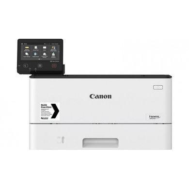 Printer Canon i-Sensys LBP228X, Duplex,Net, WiFi, A4,38ppm,1Gb,1200x1200dpi, Max.80k pages per month,60-163г/м2,250+100 sheet tray,Colour Touch LCD,UFRII,PCL 5e6,PCL6,Adobe® PostScript,Cart 057(3100p)/057H (10000p),Options AH1(500-sheet cassette)