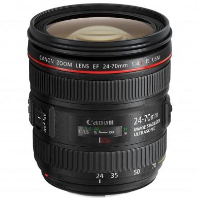 Zoom Lens Canon EF 24-70 mm f/4.0L IS USM (6313B005)