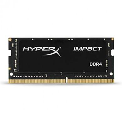 16GB DDR4-2400 SODIMM  Kingston HyperX® Impact, PC19200, CL15, 1.2V