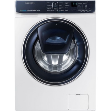 Washer Samsung WW60K52E69WDBY, White, Max load - 6.5kg, Maxi speed - 1200rpm, 85x60x45cm, Depth - 45cm, Invertor, AquaProtect/EcoBubble/, Download Type - front, Class - A+++, Sensor Display