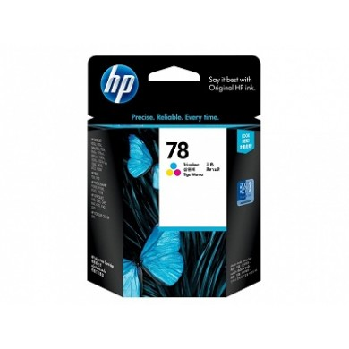 HP №78 Color Ink Cartridge, DJ1220, 3820, 6120, 920, 940, fax 1220, photosmart 1000, 1100, 1200, 1300, PSC 750, 950, copier 290 (19ml, 450 pages at 15% density). Made in SG