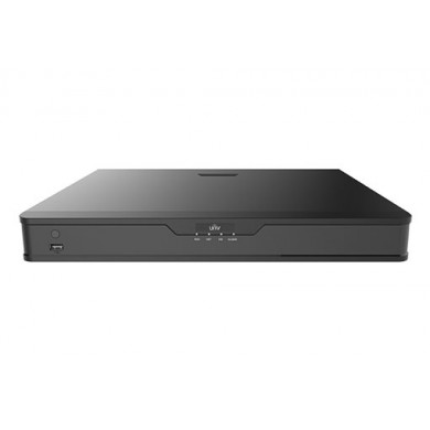 UNV NVR302-16S, 16-ch, 2 SATA, Incoming Bandwidth 160Mbps, 4 x 1080P@30 / 2 x 4MP@30 / 1 x 4K@30, Audio In/Out 1/1, 1U,  H.265&4K