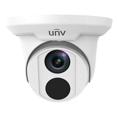 "UNV IPC3612ER3-PF28-C, 2Mp, 1/2.7"" CMOS, Fixed lens 2.8mm, IR up to 30m, ICR, 1920x1080:30fps, Ultra 265/H.264/MJPEG, Triple streams, CorridorMode, DWDR, HLC,  IP67, IR anti-reflection window, 3-Axis, DC12V/PoE"
