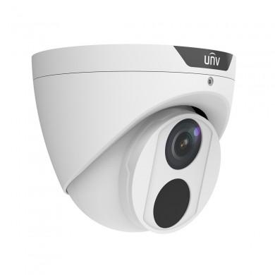 "UNV IPC3614SS-ADF28KM, 4Mp, 1/3"" CMOS, Fixed lens 2.8mm, IR up to 40m, ICR, 2688*1520: 30fps; 2560*1440: 25fps, Ultra 265/H.264/MJPEG, Triple streams,  MicroSD, Corridor Mode, Mic,120dB WDR, IP67, HLC, LightHunter, Smart functions, DC12V/PoE"