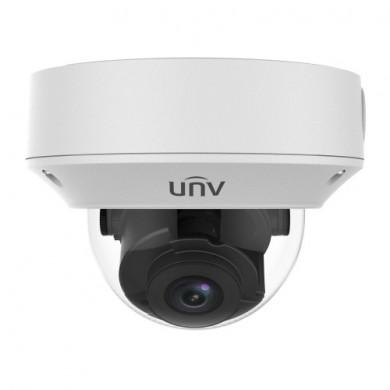 "UNV IPC3232LR3-VSP-D, Easy DOME 2Mp, 1/2.7"" CMOS,Manual lens 2.8-12mm, IR up to 30m, ICR, 1920x1080:30fps, Ultra 265/H.264/MJPEG, Triple stream, MicroSD, Reset, DWDR,  IP67&IK10, 3-Axis, DC12V/PoE"