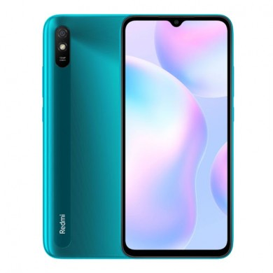 "Xiaomi RedMi 9A (No NFC) EU 32GB Green, 6.53"" 720x1600 IPS, MediaTek Helio G25, Octa-Core 2.0GHz, PowerVR GE8320, 2GB RAM, microSD (dedicated slot), 13MP/5MP, LED flash, 5000mAh, WiFi-N/BT5.0, LTE, Android 10 (MIUI 12)"