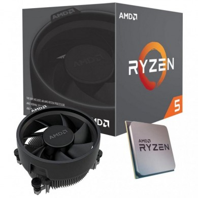 AMD Ryzen 5 3400GE, Socket AM4, 3.3-4.0GHz (4C/8T), 4MB L3, Integrated Radeon RX Vega 11 Graphics, 12nm 35W, tray