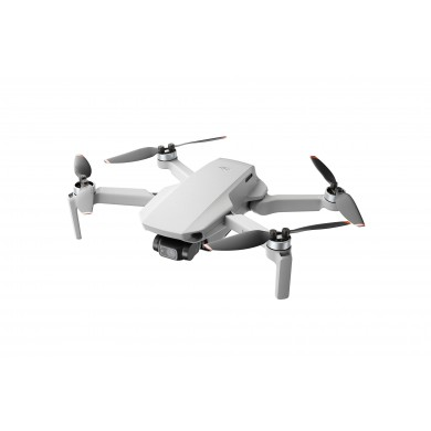 (905178) DJI Mavic Mini 2 Fly More Combo (EU) - Portable Drone, RC, 12MP photo, 4K 30fps/FHD 60fps camera with gimbal, max. 4000m height/ 57.6kmph speed, max. flight time 31min, Battery 2250 mAh, 249g (2 extra batteries, propellers, charging hub,bag)