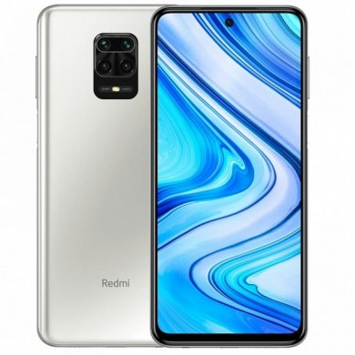 "Xiaomi RedMi Note 9S EU 64GB White, DualSIM, 6.67"" 1080x2400 IPS, Snapdragon 720G, Octa-Core 2.3GHz, 4GB RAM, Adreno 618, microSD (dedicated slot), 48MP+8MP+5MP+2MP/16MP, LED flash, 5020mAh, WiFi-AC/BT5.0, LTE, Android 10 (MIUI11),  Infrared port"