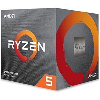 AMD Ryzen 5 3500X, Socket AM4, 3.6-4.1GHz (6C/6T), 32MB Cache L3, No Integrated GPU, 7nm 65W, Bulk with Wraith Stealth Cooler