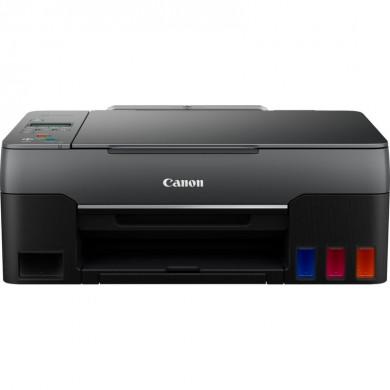 MFD CISS Canon Pixma G2460, Color Printer/Scanner/Copier, A4, Print 4800x1200dpi_2pl, ISO/IEC 10.8/6.0 ipm, 64-275g/m2, LCD display_6.2cm, 100 sheets, USB 2.0, 4 ink tanks:GI-41 B/M/Y/C Black: 6,000 pages (Economy mode 7,600 pages) Colour: 7,700 p.